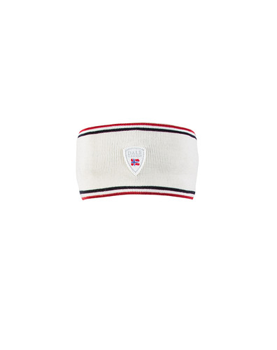 Dale of Norway Flagg Headband - Off White/Raspberry/Navy, 22601-A