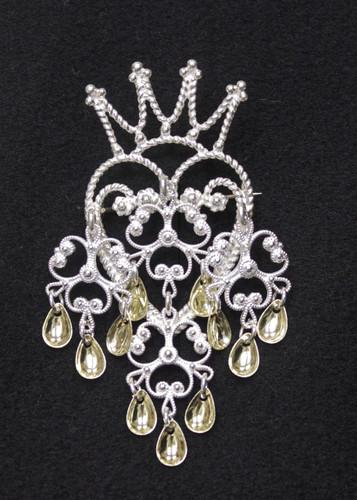 Solje of Norway Crown Brooch, Small