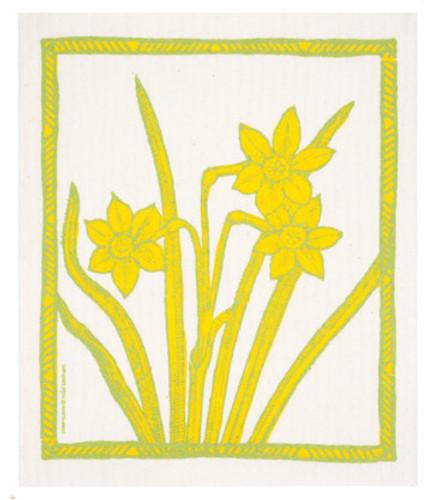 Swedish Dishcloth - Daffodills