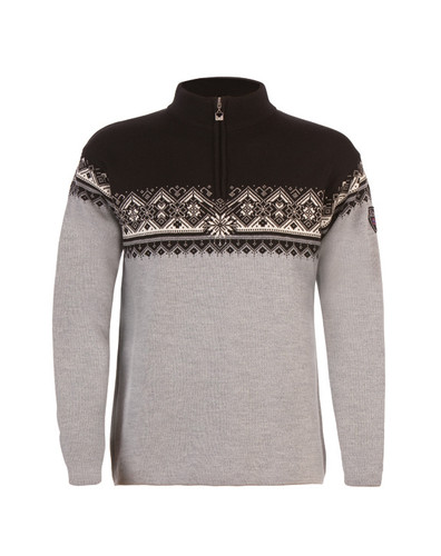 Dale of Norway St. Moritz pullover, mens, in Metal Grey/Schiefer/Black/Off White, 91391-T
