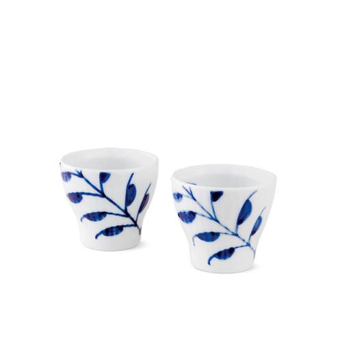 Royal Copenhagen Blue Fluted Mega - Egg Cup, 2-Pack