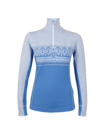 Dale of Norway Rondane Pullover, Ladies - Sky Blue/White Mel, 92681-H