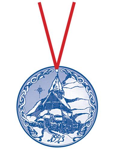 1993 Stav Church Ornament - Urness