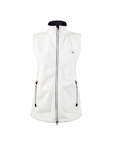 Dale of Norway Hafjell Knitshell Vest, Ladies - Off White, 82881-A