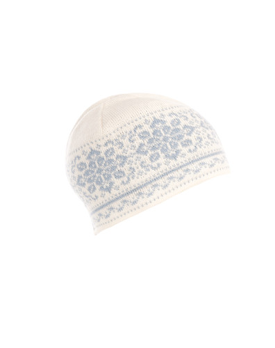 Dale of Norway Peace Hat, Ladies - Off White/Glacier, 42391-A