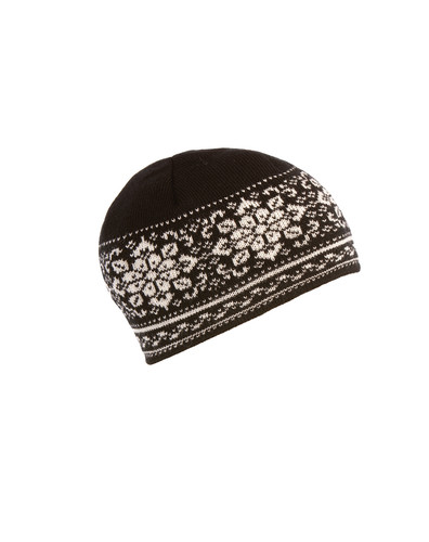 Dale of Norway Peace Hat, Ladies - Black/Off White, 42391-F