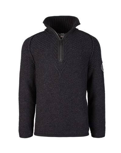 Dale of Norway Viking Sweater, Mens - Dark Charcoal, 93121-E