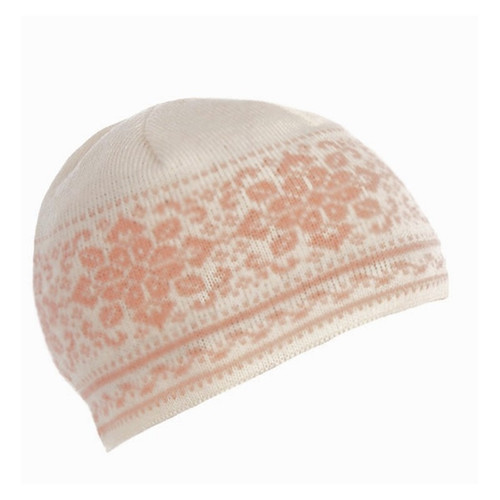 Dale of Norway Peace Hat, Ladies - Off White/Carnation, 42391-I