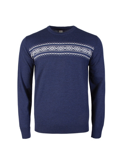 Dale of Norway, Sverre Sweater, Mens, in Navy Melange/Off White/Medium Blue, 93031-C