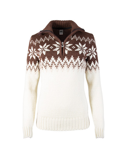 Dale of Norway Myking Sweater, Ladies - Off White/Sand/Firewood, 93011-R
