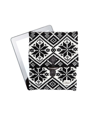 Dale of Norway iPad cover - Black/Off White, 10081