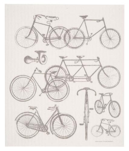 Swedish Dishcloth - Bicycles