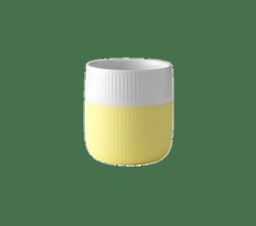 Royal Copenhagen Fluted Contrast Mug - Lemonade
