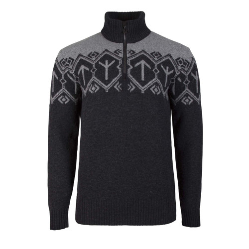 Dale of Norway Tor Pullover, Mens - Dark Charcoal/Smoke, 93371-E