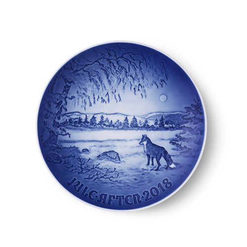 Bing and Grondahl 2018 Christmas Plate