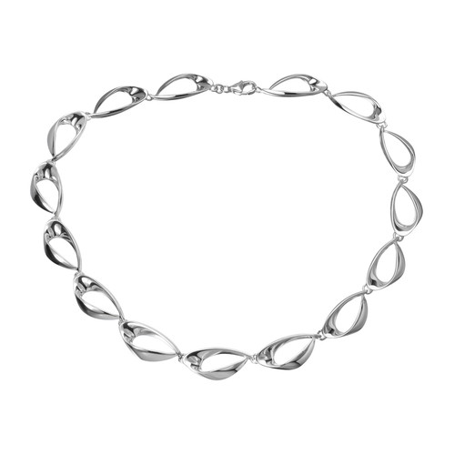 Danish Silversmiths Eye of the Needle Necklace