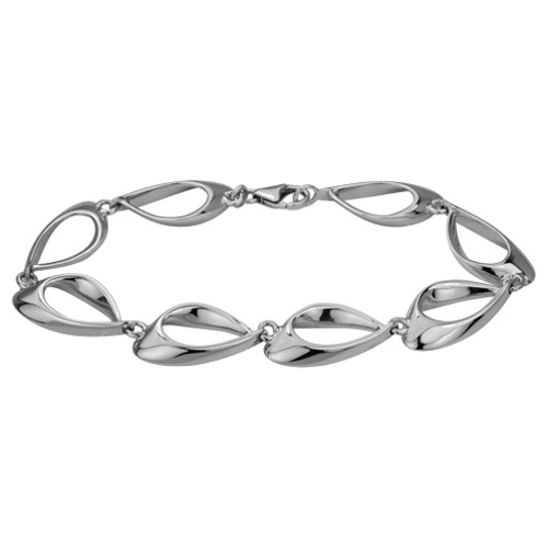 Danish Silversmiths Eye of the Needle Bracelet