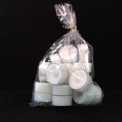Danish Stearin Tealight Candles, Bag of 18