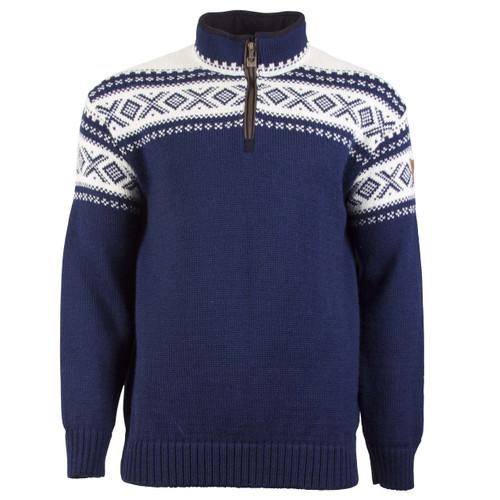 Dale of Norway Cortina Half Zip Sweater - Navy/Off-White, 93561-C