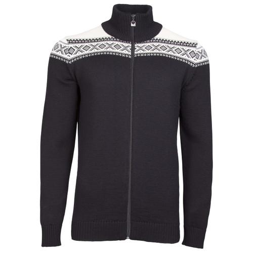 Dale of Norway Cortina Merino Cardigan, Mens - Black/Off-White, 83321-F