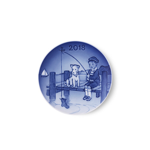 Bing and Grondahl 2018 Children's Day Plate