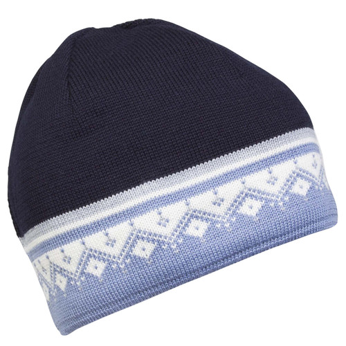 Dale of Norway Lahti/St. Moritz Hat - Navy/Blue Shadow/ Off White, 48031-D