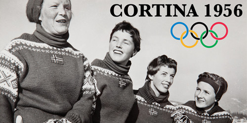 """Dale of Norway at the Olympics, Chapter 1 """"The First Official Olympic Sweater"""""""