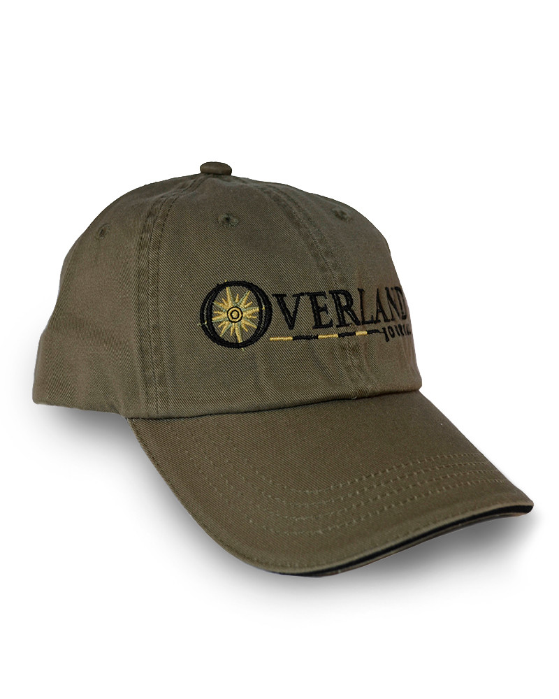 Overland Journal Olive Hat (Last chance)