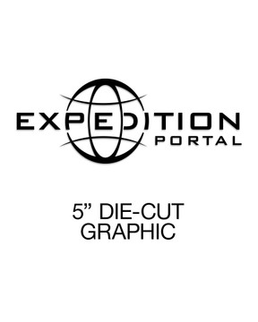 Expedition Portal Small Die-Cut Decal