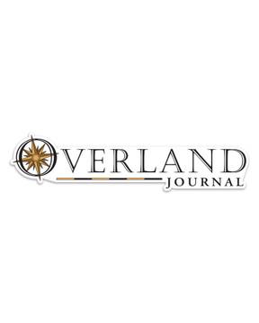 Overland Journal Transparent Decal