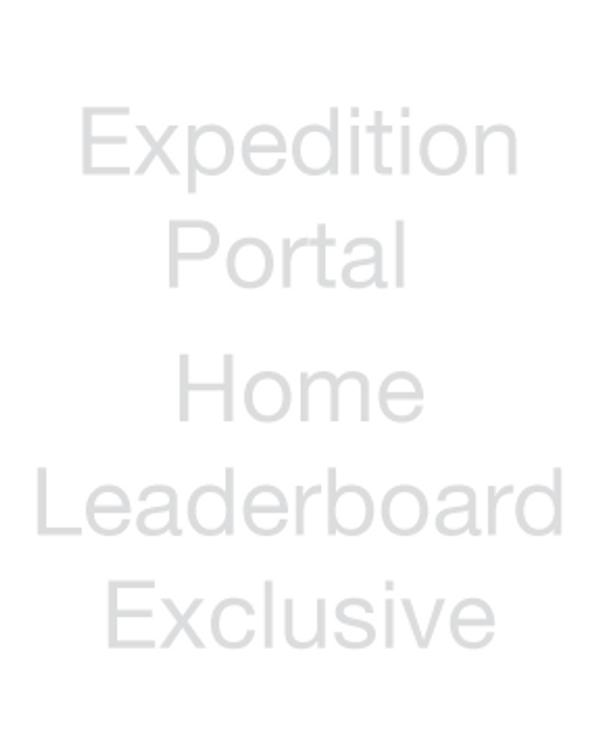 Expedition Portal - Home Leaderboard Exclusive