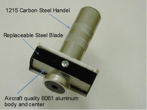"""Latch Mortiser 1"""" X 2-1/4"""" 4 Sided Cutter With Striker"""