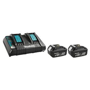 18V 2 x 4.0Ah Li-Ion Battery & Dual-Port Rapid Charger Kit