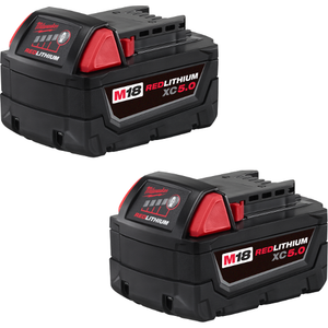 Milwaukee 5 AMP Battery (2 PACK)