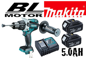 "1/2"" Cordless Hammer Driver-Drill with Brushless Motor - 5 AH KIT!"