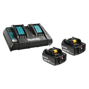18V 2 x 5.0Ah Li-Ion Battery & Dual-Port Charger Kit