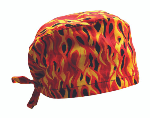 Flame Cotton Scrub Hat