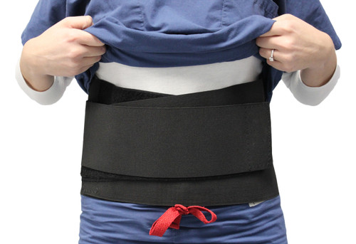 Adjustable Back Brace with Thermo Pad
