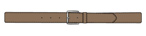 Belt PPE Decal (Roll of 50)