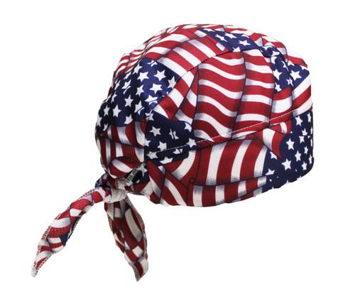 USA Skull Cap