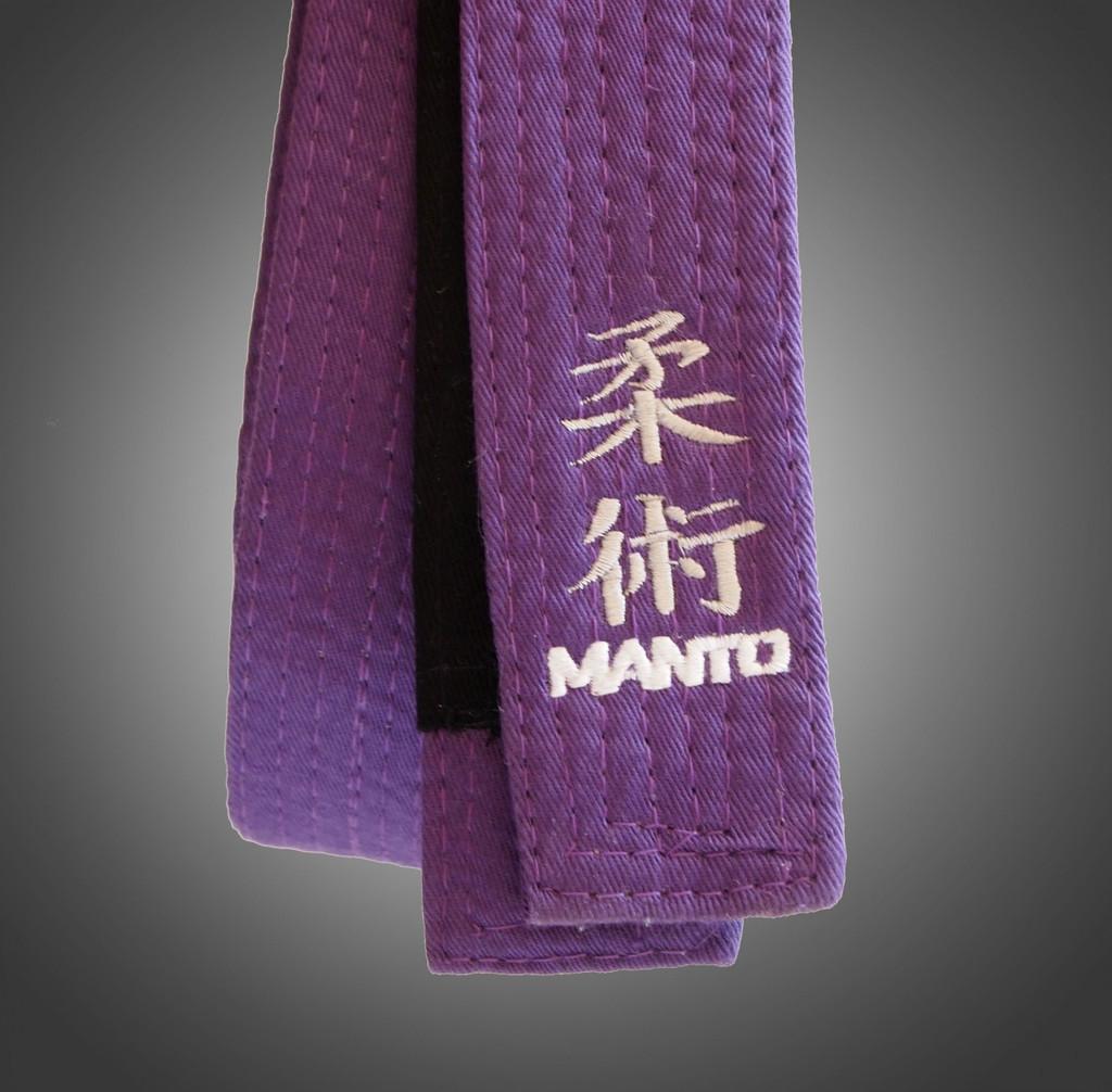 "Belt BJJ ""Kanji"" Purple"
