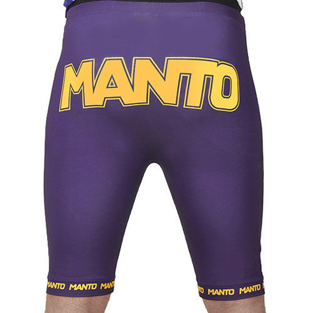 "Shorts ""VALETUDO"" purple"