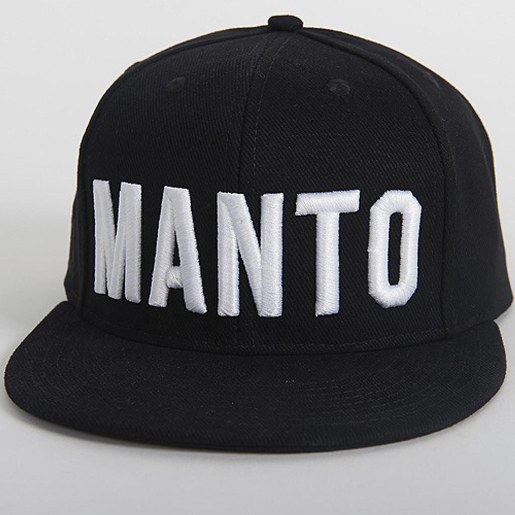 """MANTO """"EAZY"""" CAP Black"""