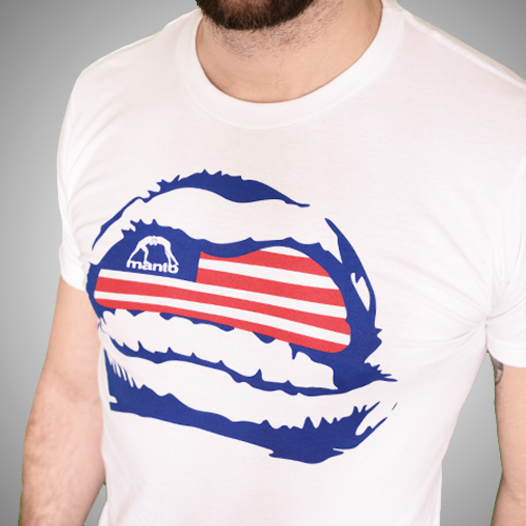 "Tshirt ""GRILLZ USA"" White"