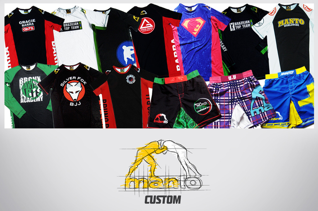 Custom Rashguards by MANTO