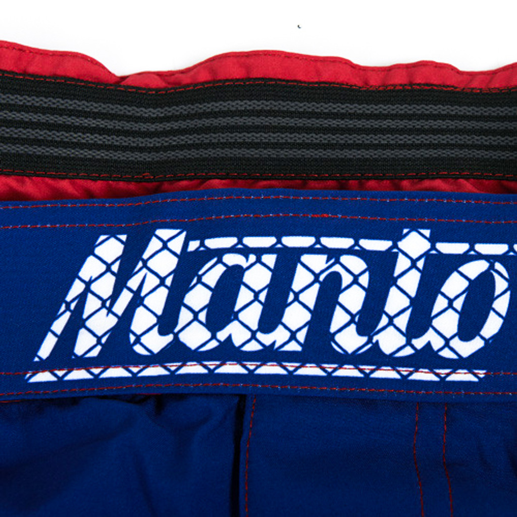 "MANTO ""WARRIORS"" SHORTS Blue for Kids"