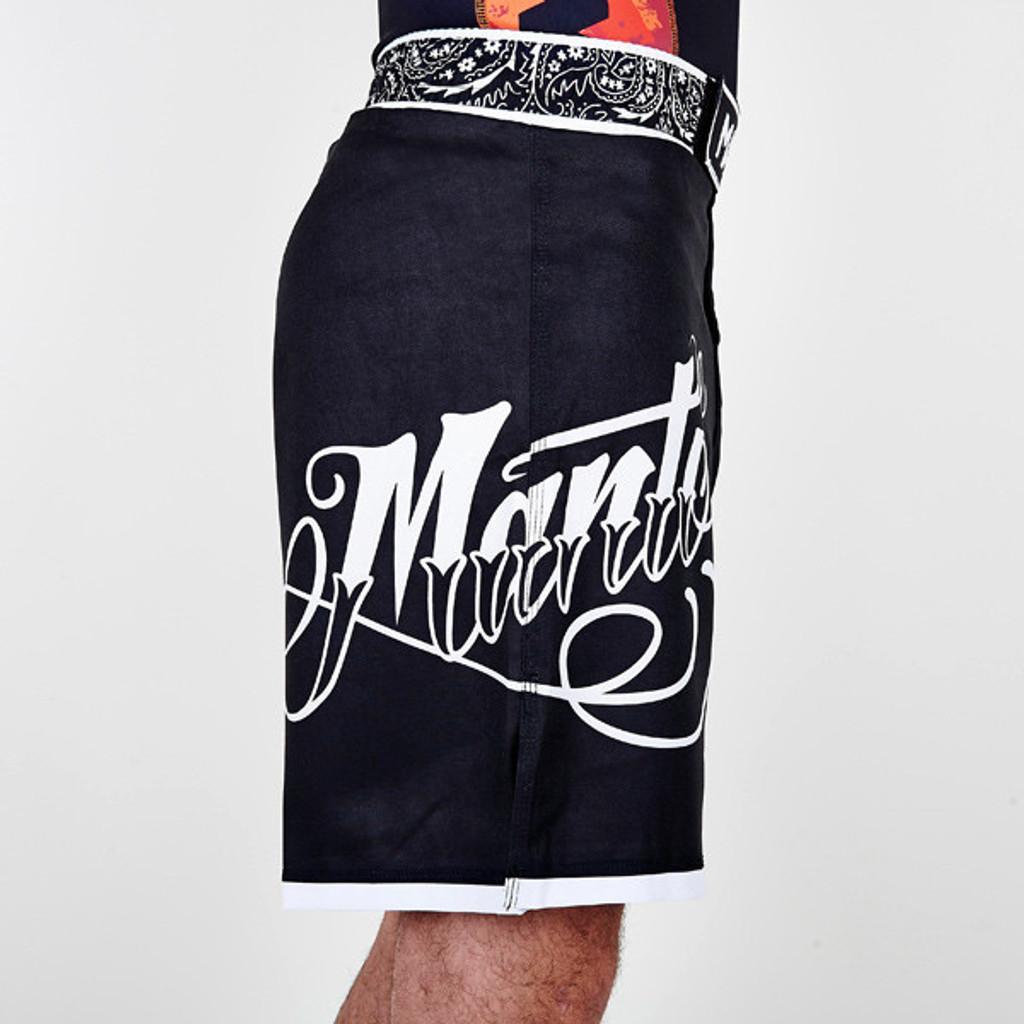 "MANTO ""AUTHENTIC"" PRO SHORTS Black"