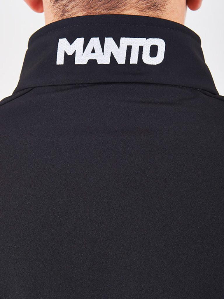 """MANTO """"HYPER"""" SOFTSHELL JACKET Black"""