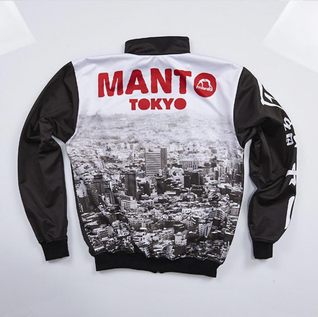 "MANTO ""TOKYO"" TRACK JACKET Black/Red"