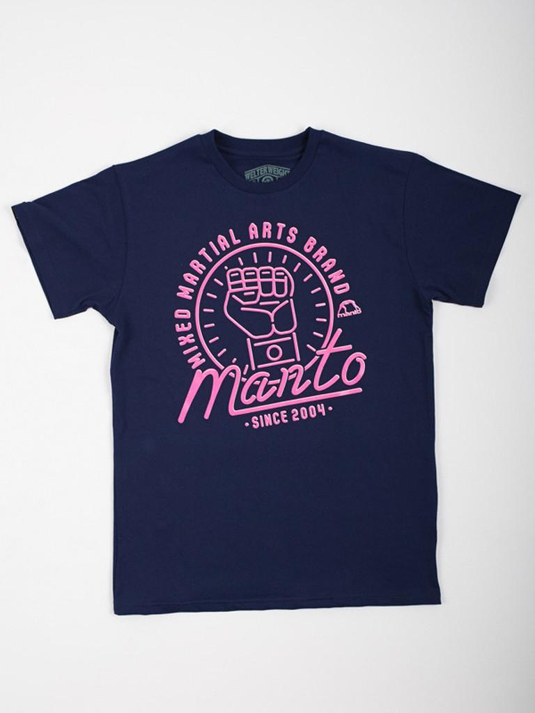 "MANTO ""NEON"" T-SHIRT Navy"